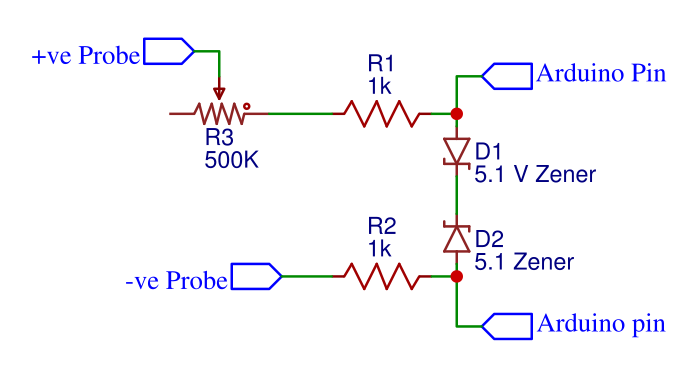 we need this piece of circuit 4 times to make 4 channel oscilloscope  i  used 4 usb base to connect the probes with the main circuit board